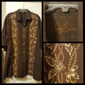 Tommy Bahamas button down Hawaiian Shirt